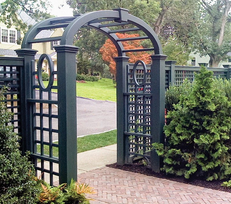 Arbor Over Gate Ideas: Perfection Fence